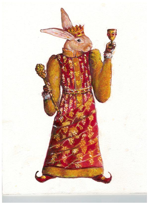 Royal Rabbit Vineyards Logo