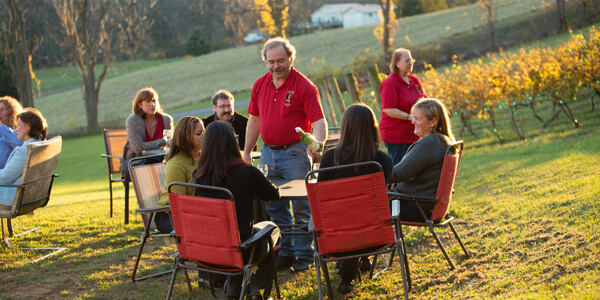 Bring Your Group or Event to Royal Rabbit Vineyards