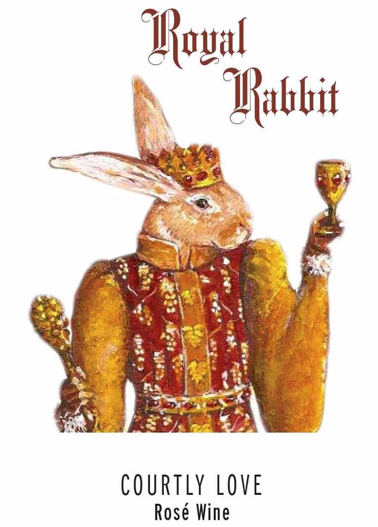 Courtly Love - Royal Rabbit Vineyards - Rose Wine