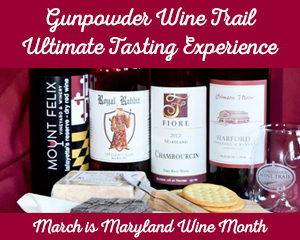 Gunpowder Wine Trail. March Maryland Wine Month