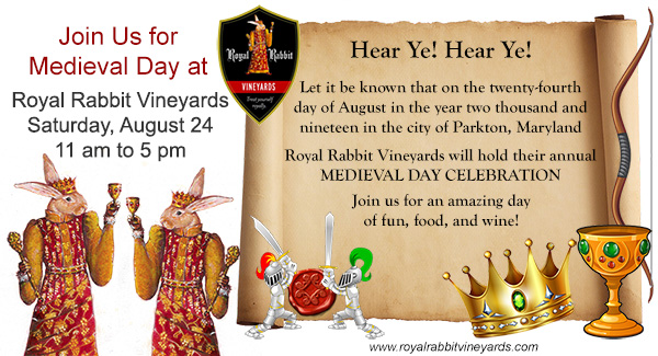 Medieval Day Celebration on August 24, 2019