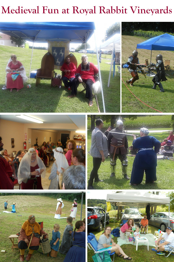 Medieval Days at the Vineyard