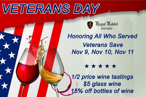 Honoring all who served Veterans Day Savings