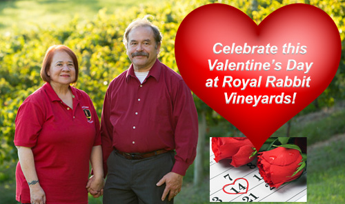 Royal Rabbit Vineyards-2020 February Valentines Day Celebration