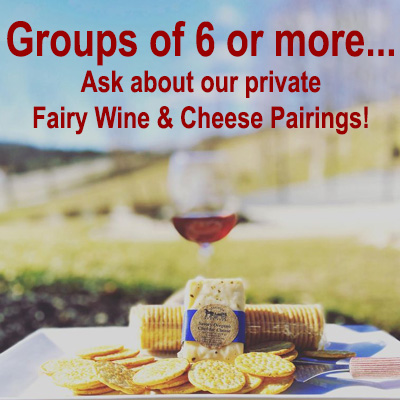 Private Groups Fairy Wine Cheese Pairings