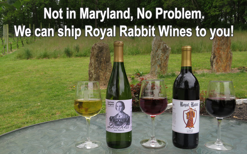 Shipping Wine Outside MD