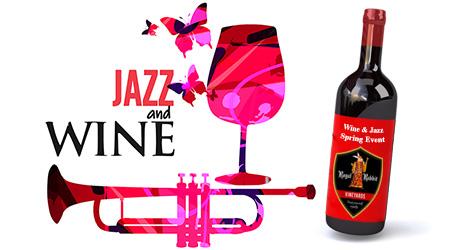 Wine and Jazz Spring Event at Royal Rabbit Vineyards