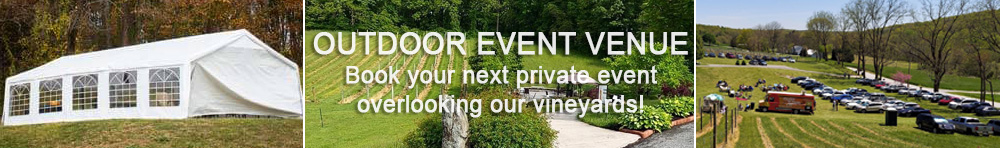 Royal Rabbit Vineyards the outdoor event venue for all types of private events